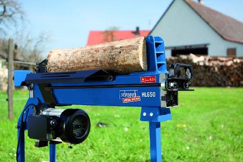6,5 Tonnen - Scheppach Holzspalter Brennholzspalter T650 incl. Unterbau - 1