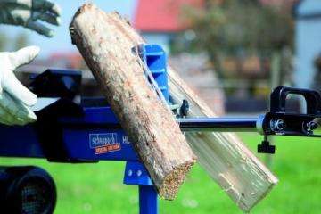 6,5 Tonnen - Scheppach Holzspalter Brennholzspalter T650 incl. Unterbau - 2