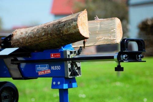 6,5 Tonnen - Scheppach Holzspalter Brennholzspalter T650 incl. Unterbau - 3