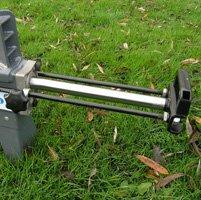 STAHLMANN® Holzspalter 7 Tonnen / 520mm liegend mit stufenlos verstellbaren Spaltweg bis max. 520 mm! TÜV/CE zertifiziert. - 2